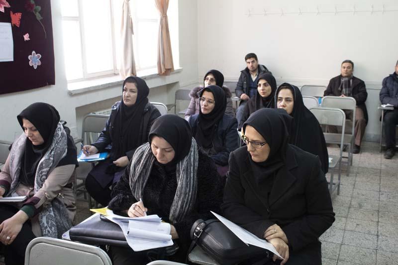 کارگاه آمار همایش تبریز