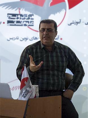 سیداحمد کسائیان، مدرس زبان چالوس